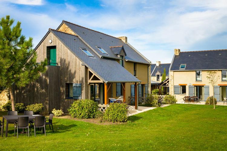 Bretagne Appartementen te huur Vakantiepark met zwembad in het Bretonse oestervissersdorp Cancale