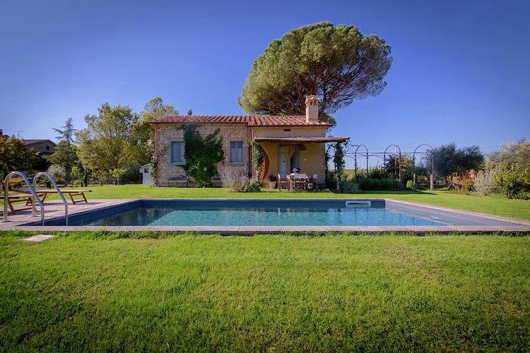 Vakantiehuizen Italie | Toscana | Villa te huur in Cortona met zwembad  met wifi 4 personen