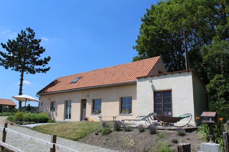 Vakantiewoning  met wifi  Ellezelles  Mooi huis in de Vlaamse Ardennen met een prachtig uitzicht op het platteland
