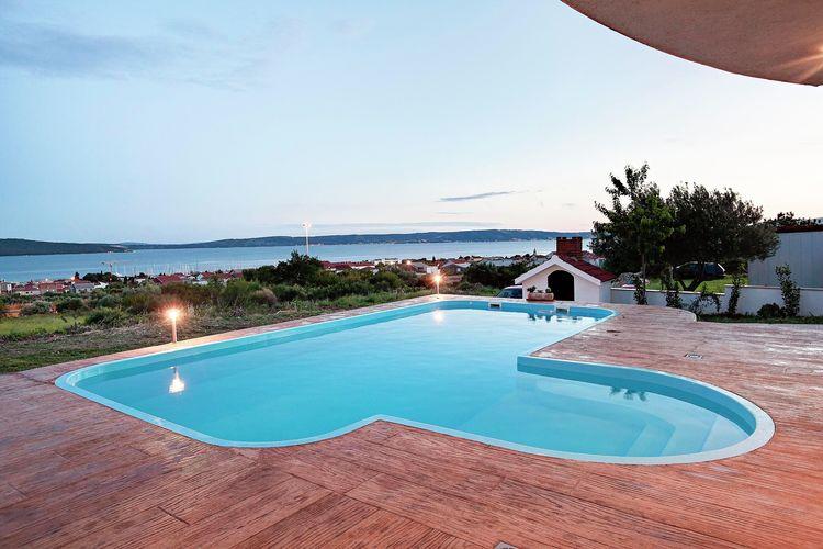 vakantiehuis Kroatië, Dalmatie, Katel Sućurac vakantiehuis HR-21212-01