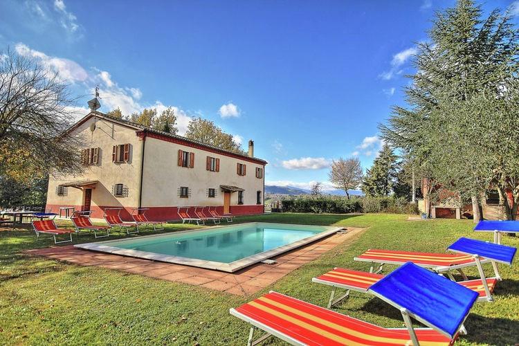 Villa met zwembad met wifi  Pergola  Villa Fulvio