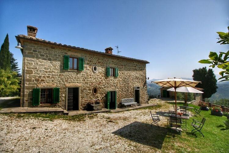 Vakantiehuizen Italie | Toscana | Boerderij te huur in Caprese-Michelangelo met zwembad  met wifi 4 personen