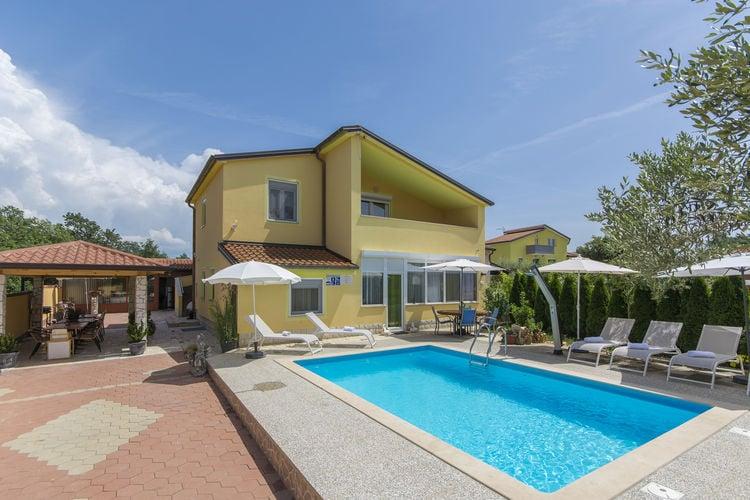 Appartement met zwembad met wifi  IstrieApartment Complex Laura Nova Vas \/ Apartment Laura D with Balcony and Garden View