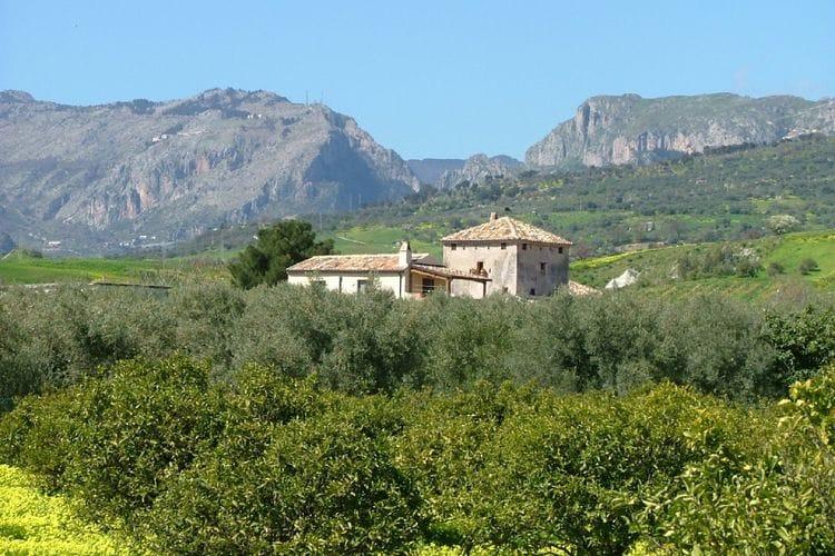 Vakantiewoning op landgoed, omgeven door citrus- en olijfbomen, 7km van zee.