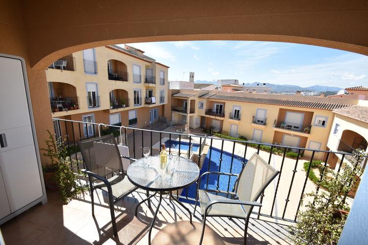 Appartement met zwembad met wifi  Costa BlancaEl Poble 7