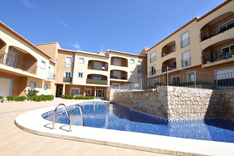 Appartement Spanje, Costa Blanca, Moraira Appartement ES-00023-76