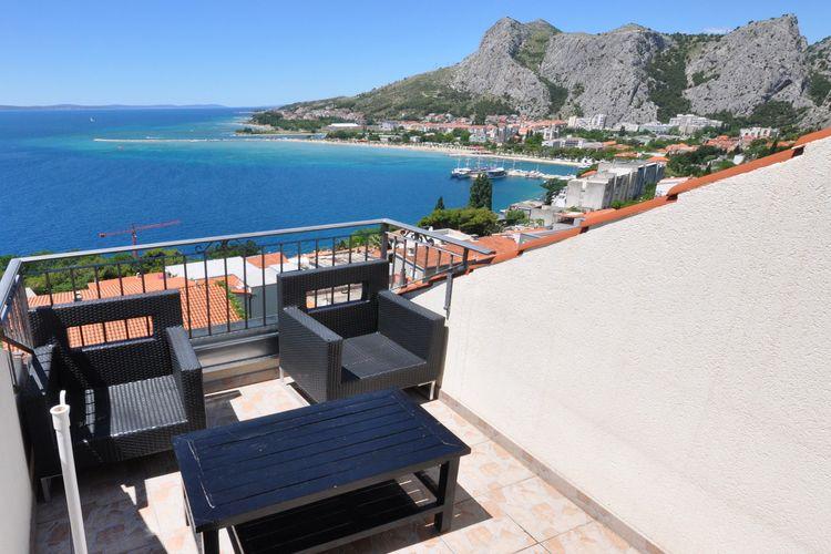 Appartement Kroatië, Dalmatie, Omis Appartement HR-00004-87
