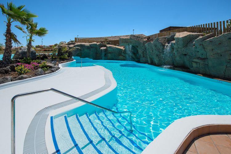 fuert Vakantiewoningen te huur Vakantiepark dicht bij zee met villa's, zwembaden, animatie en waterpark