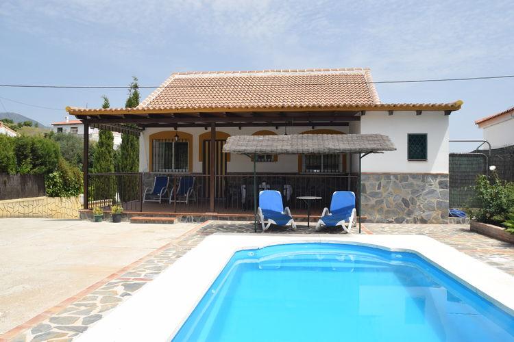 Vakantiehuis met zwembad met wifi  Guaro  La Vista