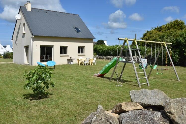 Plouhinec Vakantiewoningen te huur Nette vrijstaande woning met enorme tuin op slechts 1 km van het strand