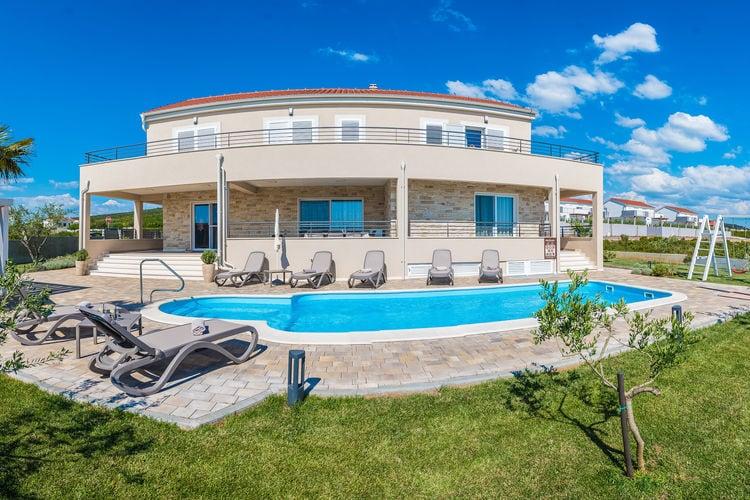 Villa Kroatië, Dalmatie, Debeljak Villa HR-23206-08