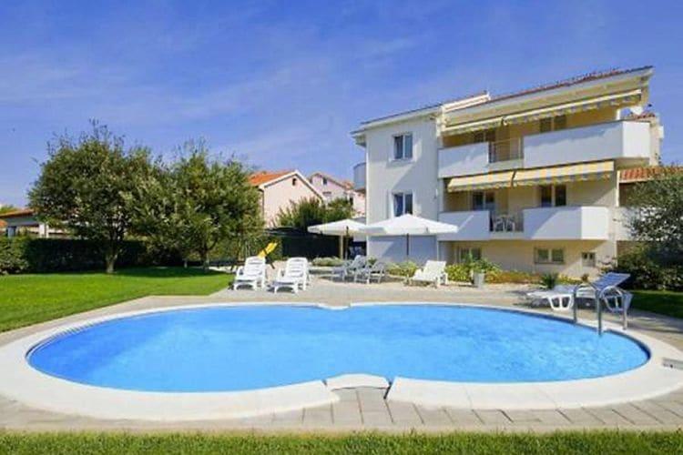 Appartement huren in  Kroatie - met zwembad  met wifi met zwembad voor 6 personen