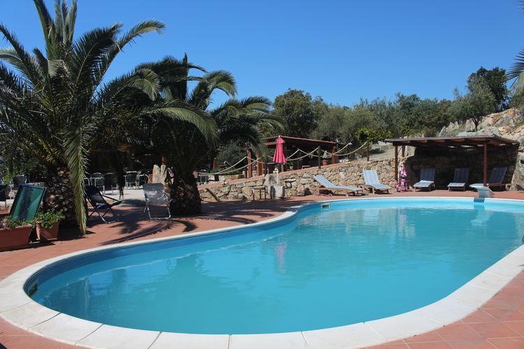 Huis met zwembad op 3 hectare mediterrane vegetatie, wijngaarden en boomgaarden