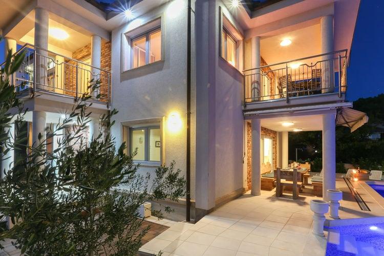 Villa Kroatië, Dalmatie, Marina Villa HR-00005-04
