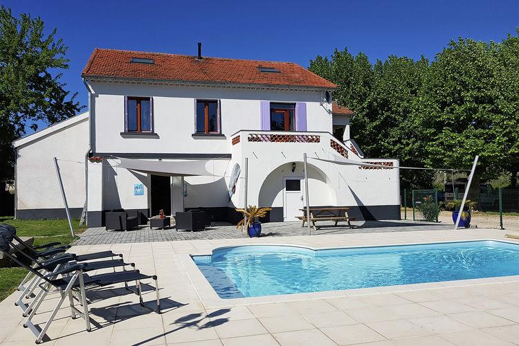 Vakantiewoningen Languedoc-Roussillon te huur Saint-Hilaire-de-Brethmas- FR-00013-67 met zwembad  met wifi te huur