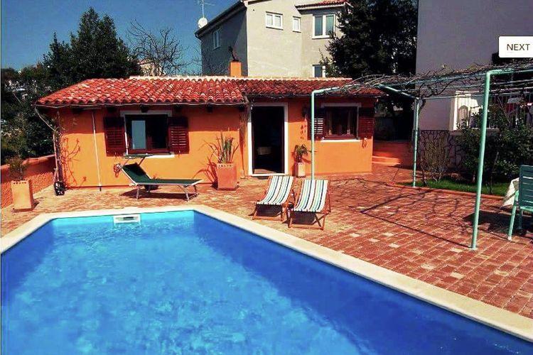 Bungalow met zwembad met wifi  Vinkuran  Gezellige bungalow met zwembad en air-conditioning, omheinde tuin met grill area