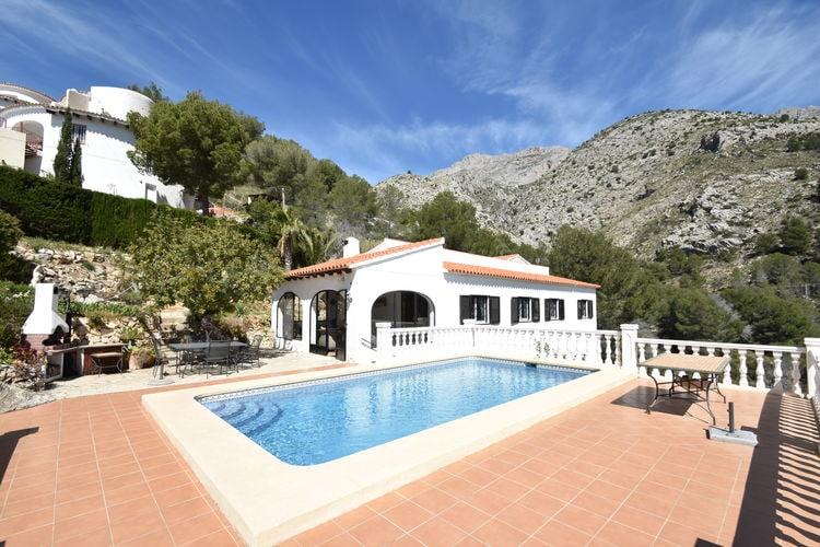 Vakantiewoning Spanje, Costa Blanca, Altea Villa ES-00022-101