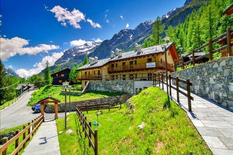 Chalet huren in Val-daosta -   met wifi  voor 6 personen