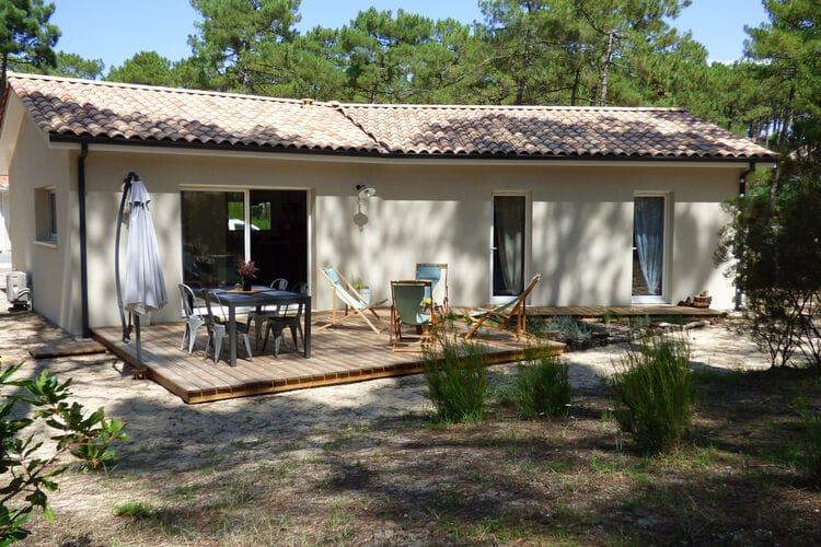 Vakantiehuizen Frankrijk | Cote-Atlantique | Vakantiehuis te huur in Carcans   met wifi 6 personen