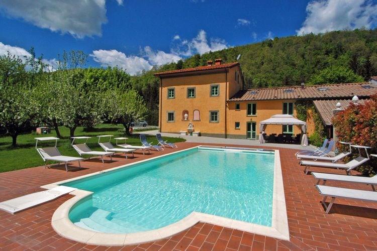 Italie | Toscana | Villa te huur in Pistoia met zwembad  met wifi 14 personen