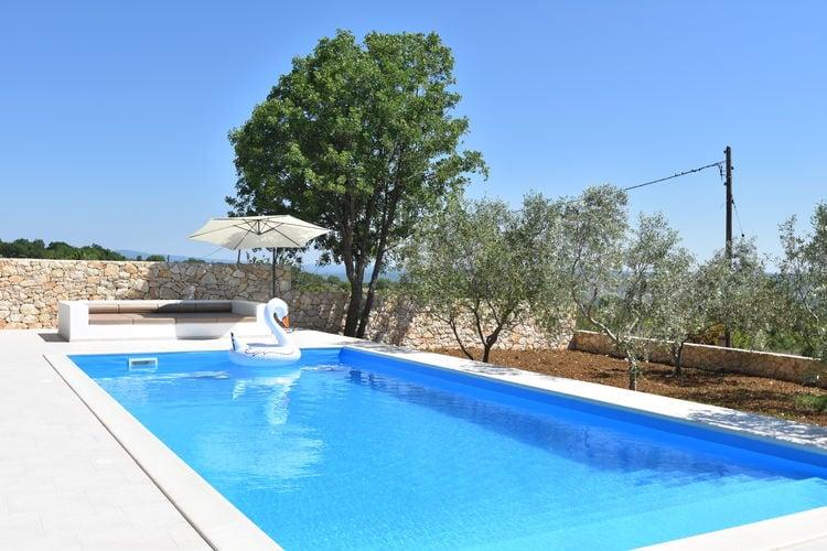 Villa Kroatië, Dalmatie, Posedarje Villa HR-23242-03