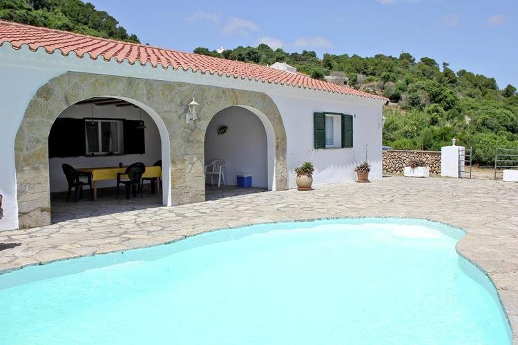 Vakantiehuizen men te huur Mercadal- ES-00024-80 met zwembad  met wifi te huur