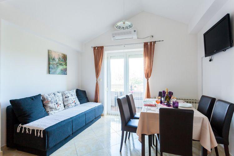 Appartement Kroatië, eld, Malinska Appartement HR-00005-47