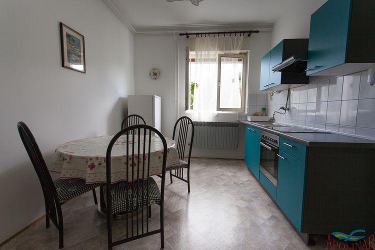 Appartement Kroatië, eld, Malinska Appartement HR-00005-48