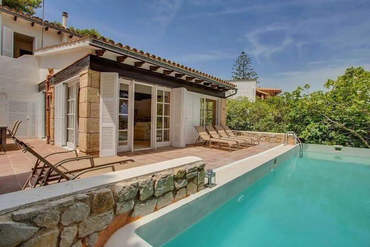 Vakantiehuizen Spanje | Mallorca | Vakantiehuis te huur in Font-de-sa-Sala met zwembad  met wifi 6 personen