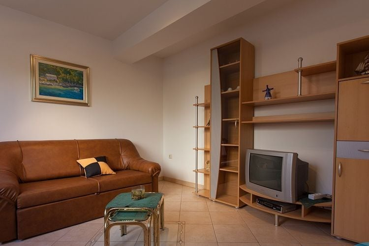 Appartement Kroatië, eld, Malinska Appartement HR-00005-58