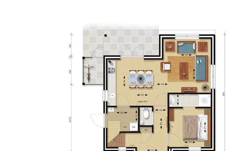 Villa Nederland, Zeeland, Cadzand-Bad Villa NL-4506-42