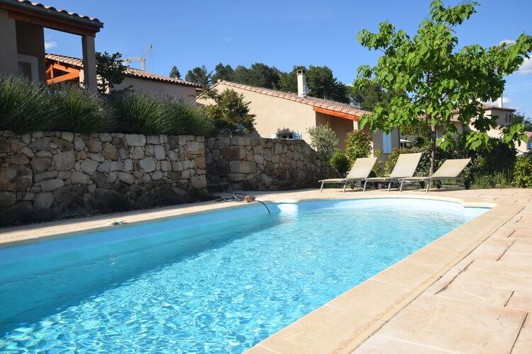 Vakantiehuizen Frankrijk | Ardeche | Villa te huur in Joyeuse met zwembad  met wifi 8 personen