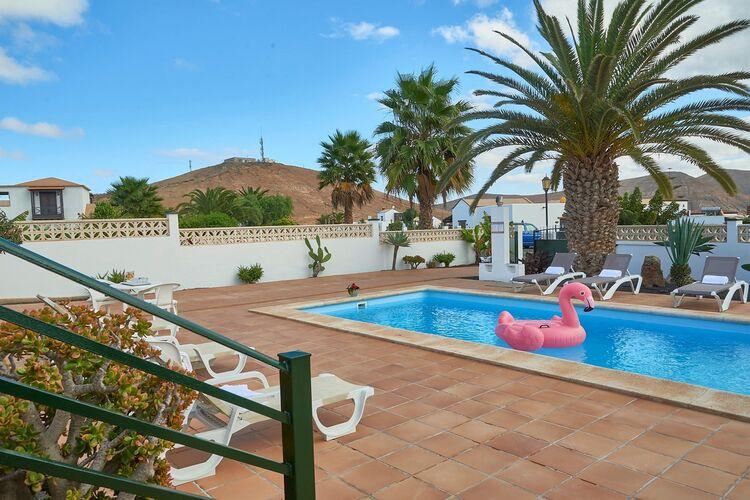 Vakantiehuizen Spanje | Fuert | Vakantiehuis te huur in La-Oliva met zwembad  met wifi 10 personen