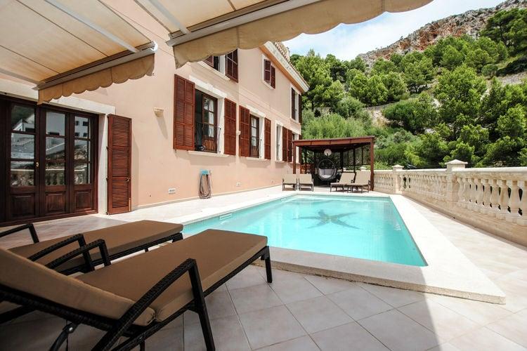 Grote villa met privézwembad en spectaculair zeezicht nabij leuk strand Canyamel