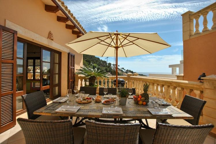 Villa met zwembad met wifi  Canyamel  Casa Cap Vermell
