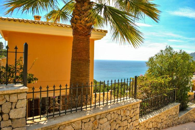 Mallorca Villas te huur Grote villa met privézwembad en spectaculair zeezicht nabij leuk strand Canyamel