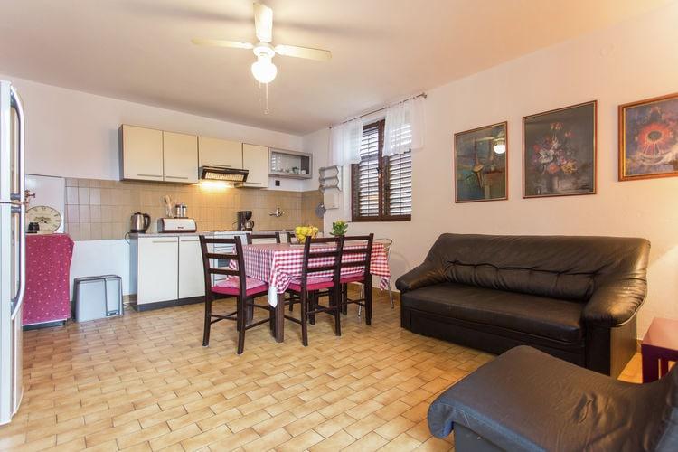 Appartement Kroatië, Dalmatie, Seline Appartement HR-23244-24