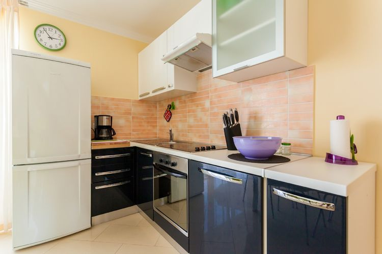 Appartement Kroatië, eld, Malinska Appartement HR-00005-78