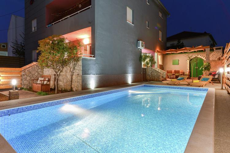 Kroatie | Dalmatie | Villa te huur in Zadar met zwembad  met wifi 6 personen