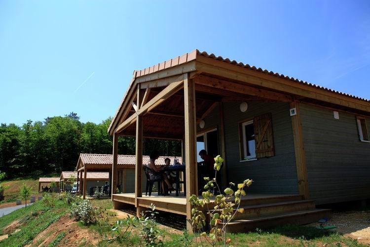 Dordogne Chalets te huur Leuk vakantieadres met heerlijk zwembad in de groene Lot