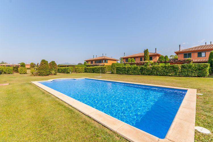 Spanje | Costa-Brava | Vakantiehuis te huur in Navata met zwembad  met wifi 8 personen