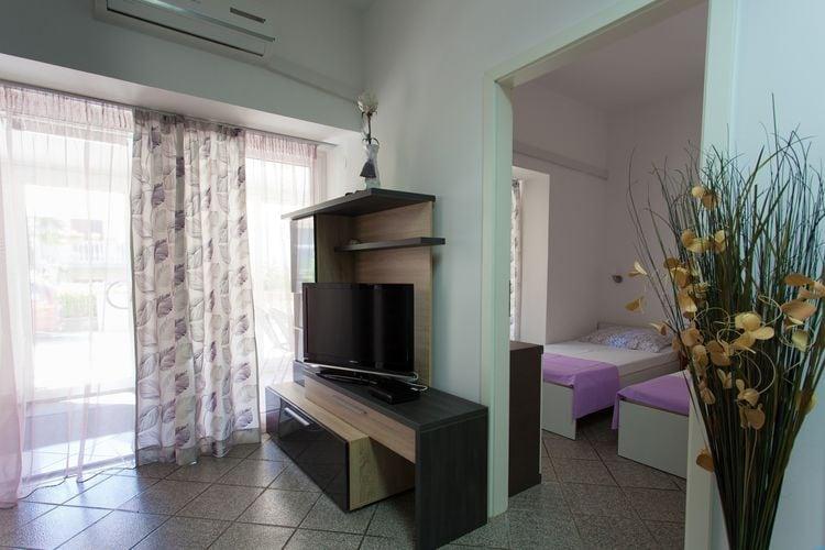 Vakantiewoning Kroatië, eld, Malinska Appartement HR-00005-98