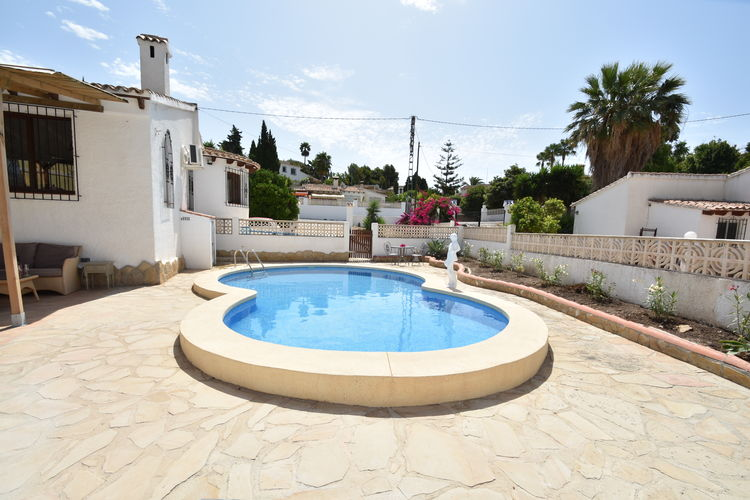 Villa met zwembad met wifi  Calpe  Casa Mi sueno