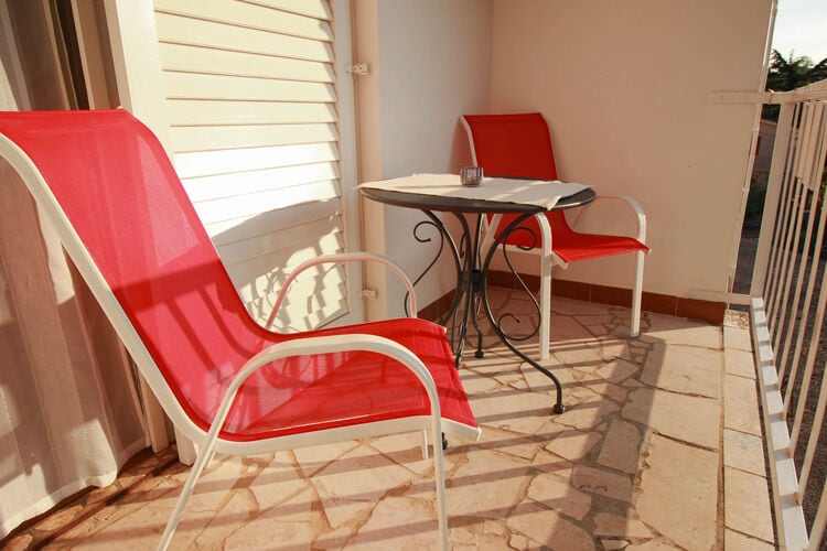 Appartement Kroatië, eld, Malinska Appartement HR-00006-04