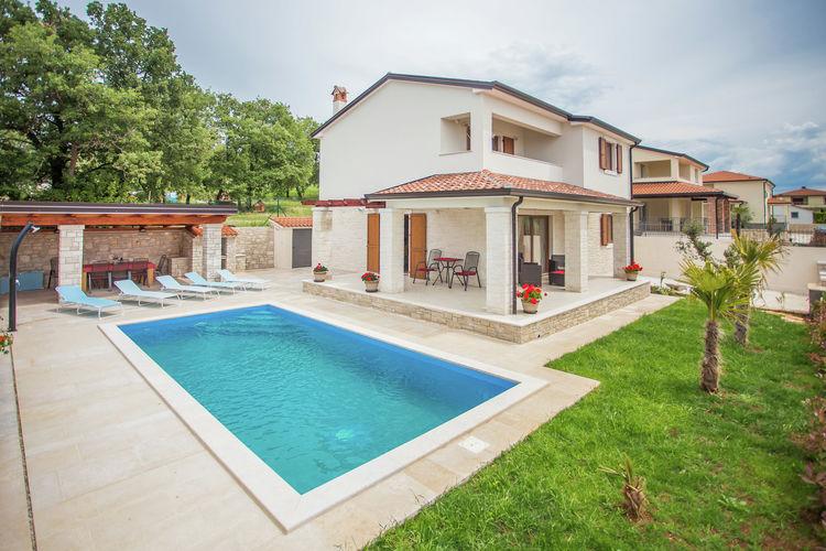 Villa Kroatië, Istrie, Kastelir Villa HR-52464-26