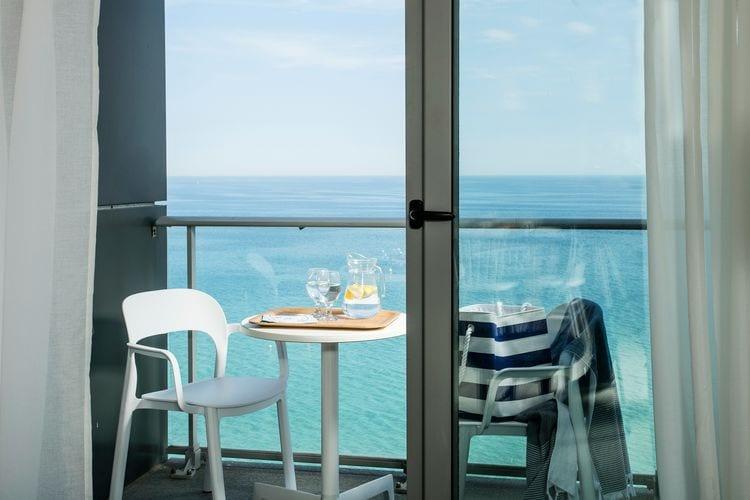 Blanes Vakantiewoningen te huur Appartement 2 personen direct aan het strand van de Costa Brava in Blanes
