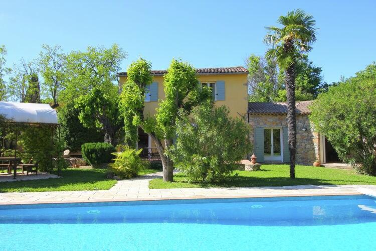 Lorgues Vakantiewoningen te huur Unieke ruime villa met privézwembad op loopafstand van Provençaalse dorp Lorgues