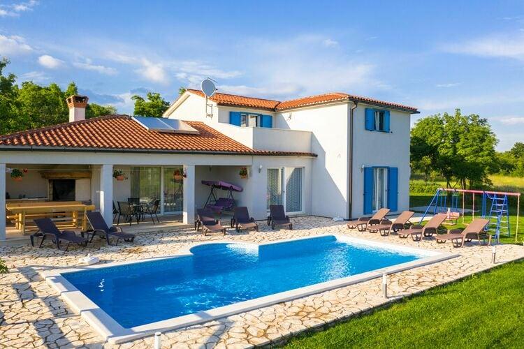 Kroatie | Istrie | Villa te huur in Umber met zwembad  met wifi 12 personen