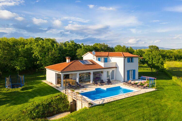 Villa Kroatië, Istrie, Šumber Villa HR-00006-16