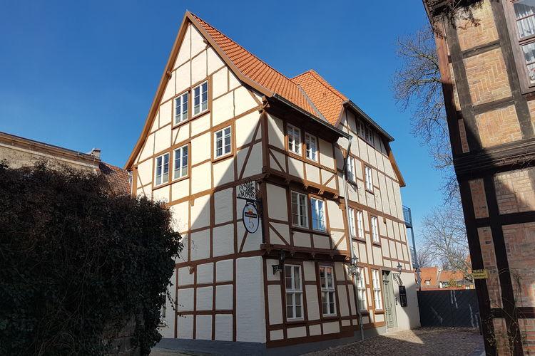 Quedlinburg Vakantiewoningen te huur Een exclusieve vakantiewoning die ondergebracht werd in een monumentaal vakwerkhuis in Quedlinburg.